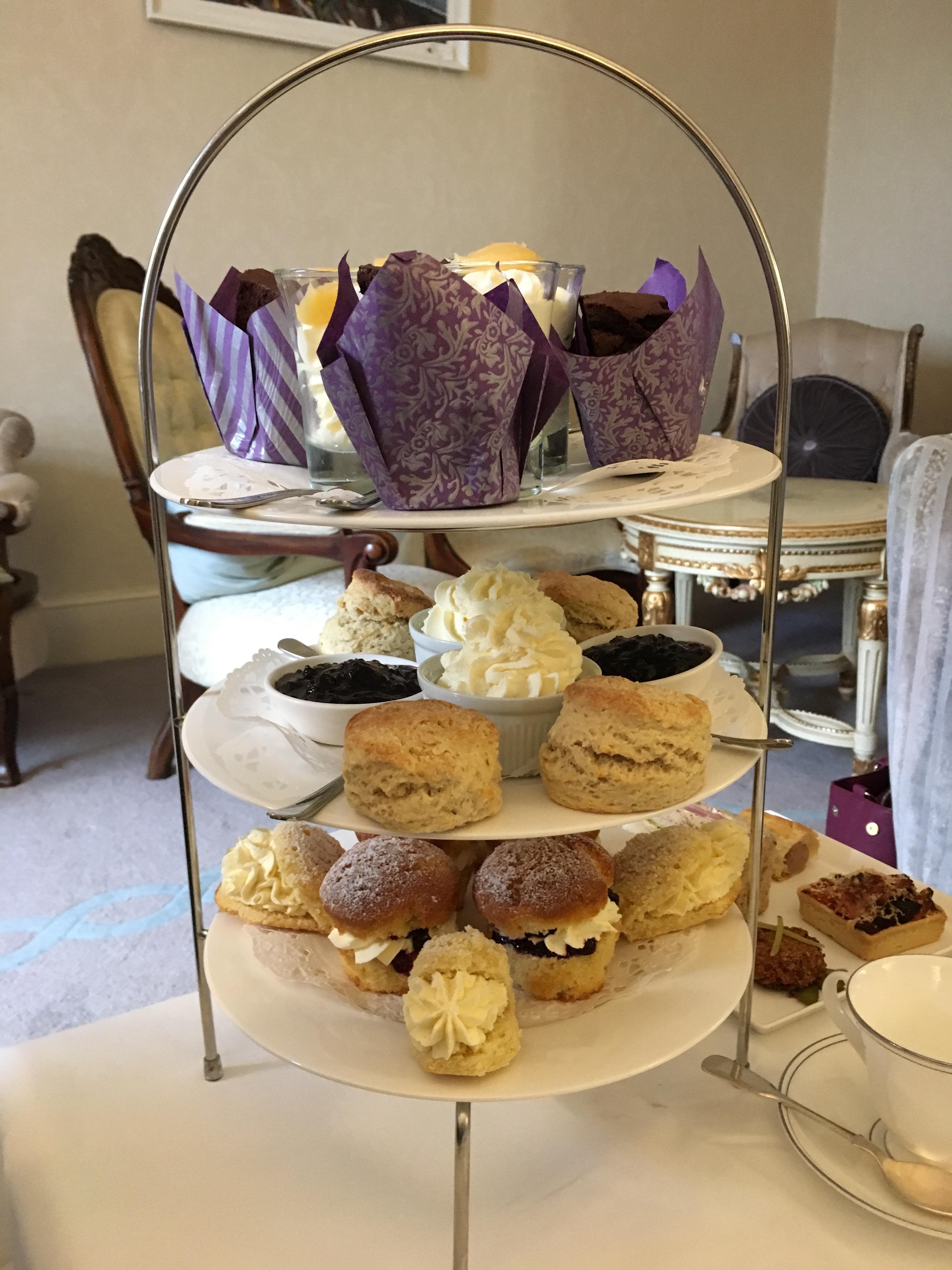 afternoon tea Pembrokeshire