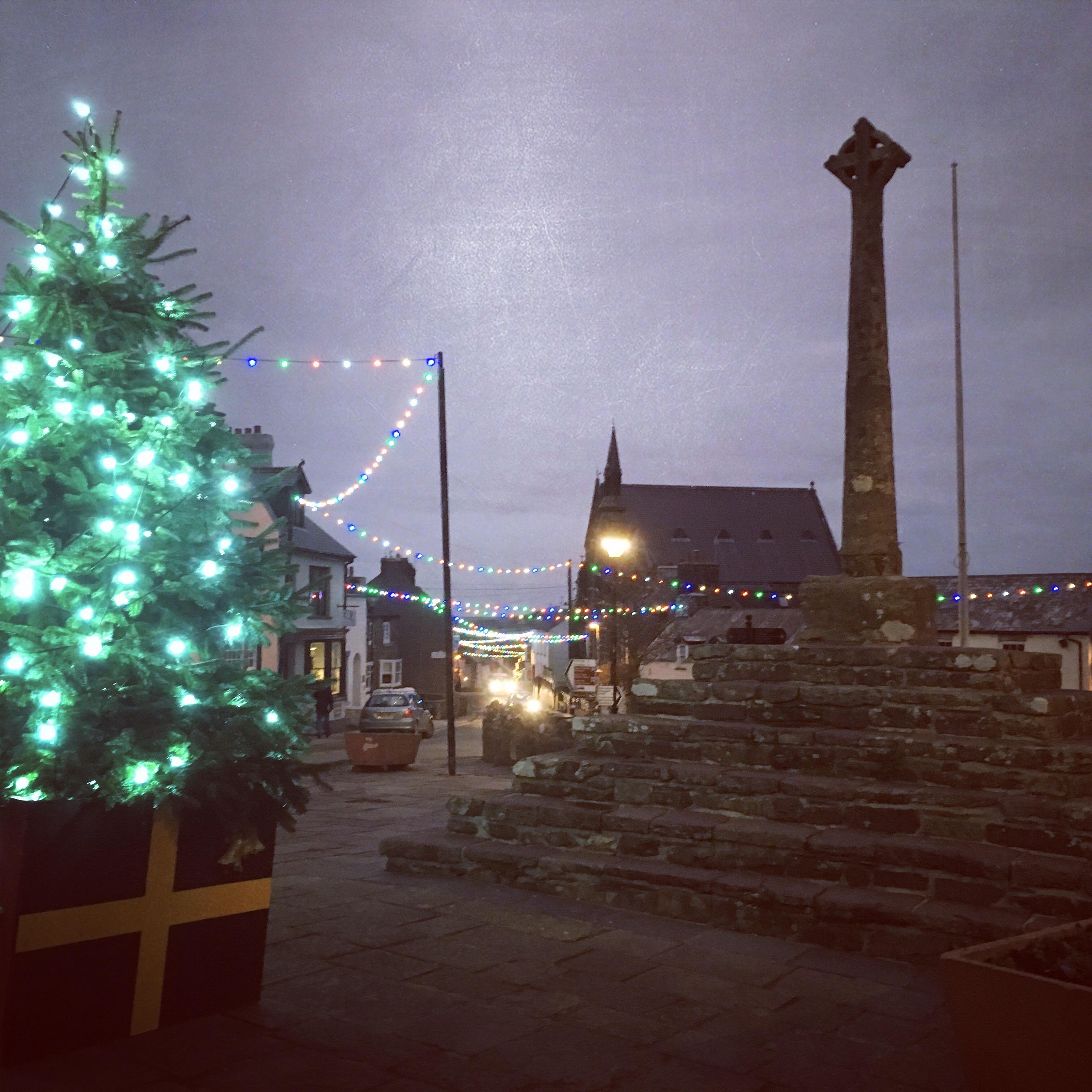 Christmas Lights - St Davids