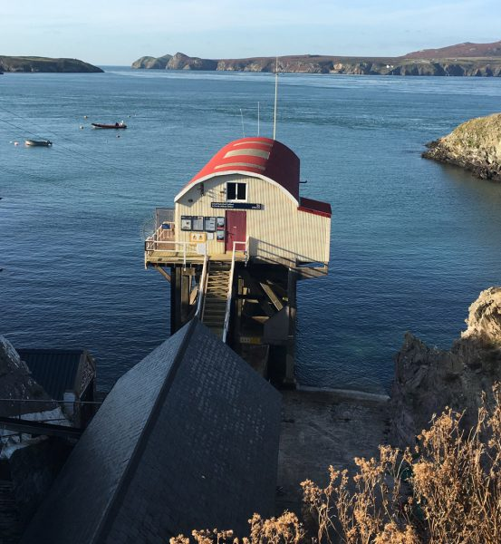 Lifeboat Station Pembrokeshire Wales