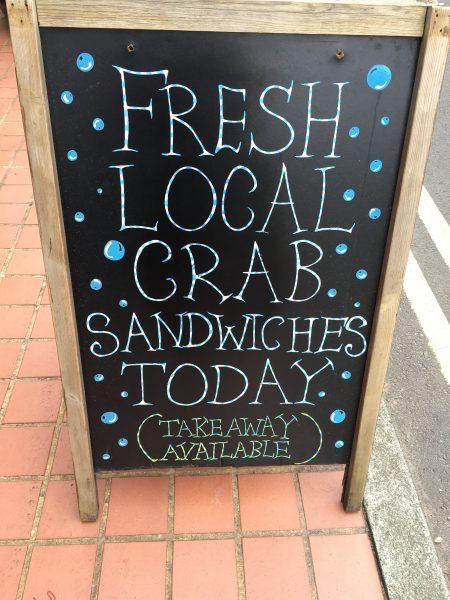 Crab Sandwiches St Davids Escapes