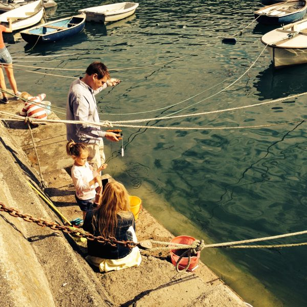 Crabbing Solva St Davids Escapes