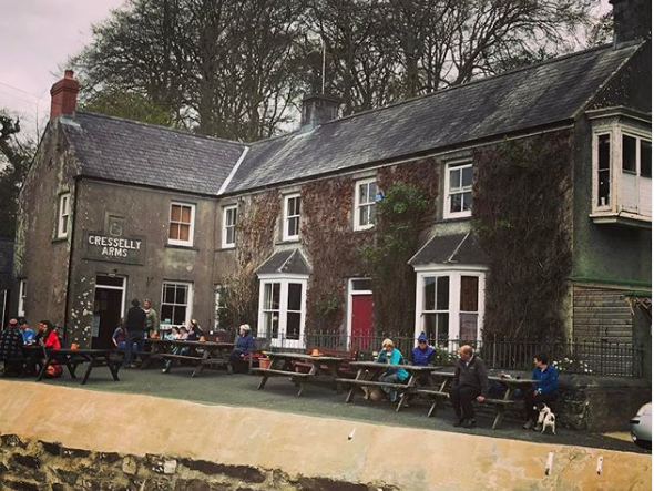 The Cresselly Arms - Pembrokeshire