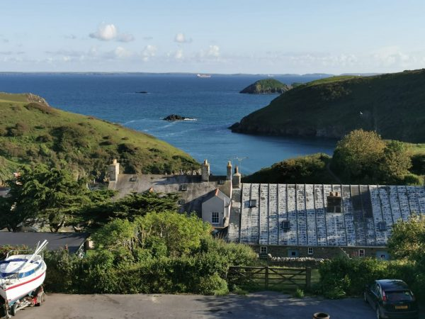 View from The Royal George Solva