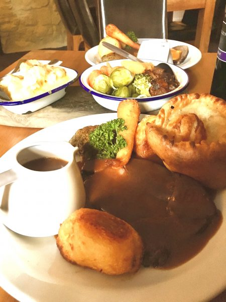 Sunday Lunch Cambrian Inn Solva