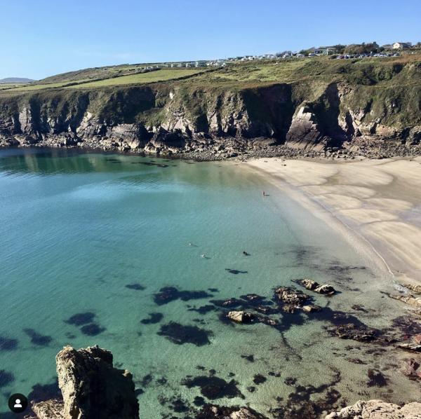 Caerfai Beach, Pembrokeshire