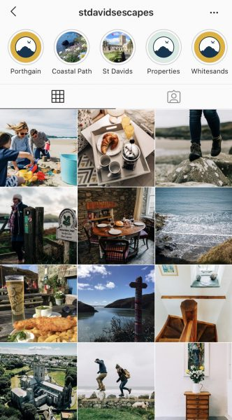 St Davids Escapes Instagram Feed