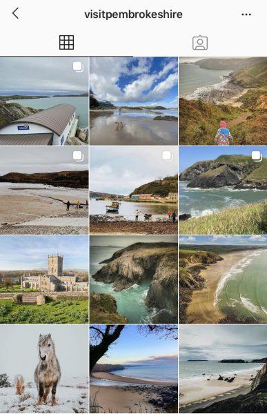 Visit Pembrokeshire Instagram Feed