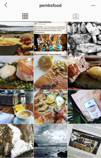 Pembs Food Instagram Feed