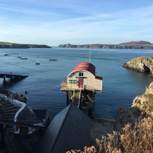 Old Lifeboat Station St Justinian's