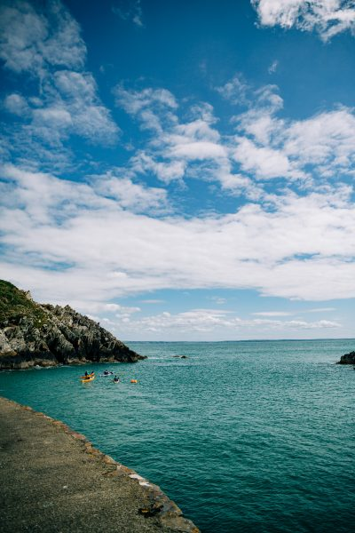 Kayaking in Pembrokeshire